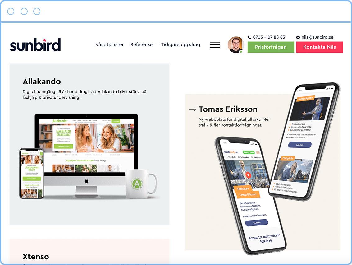 sunbird-screenshot