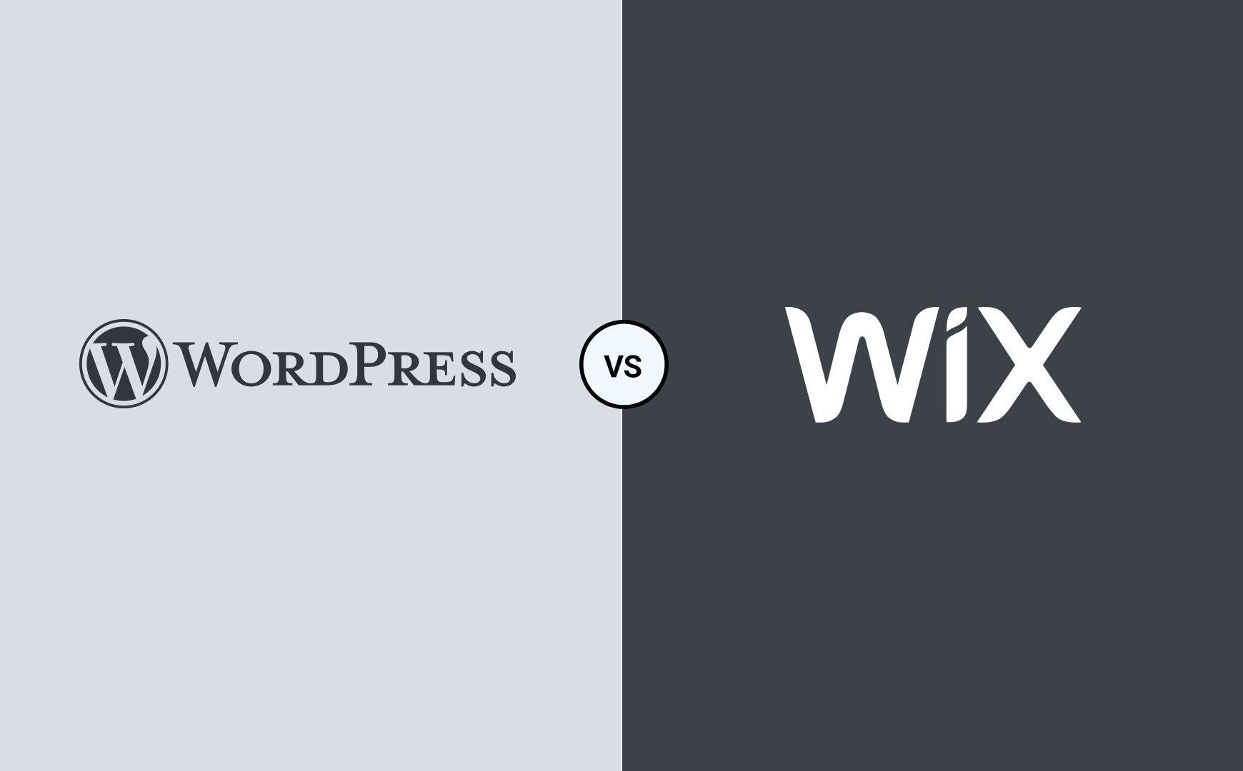 wordpress eller wix